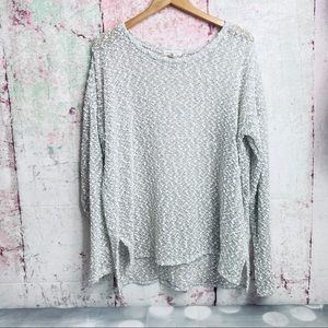 Aéropostale High-low popcorn sweater